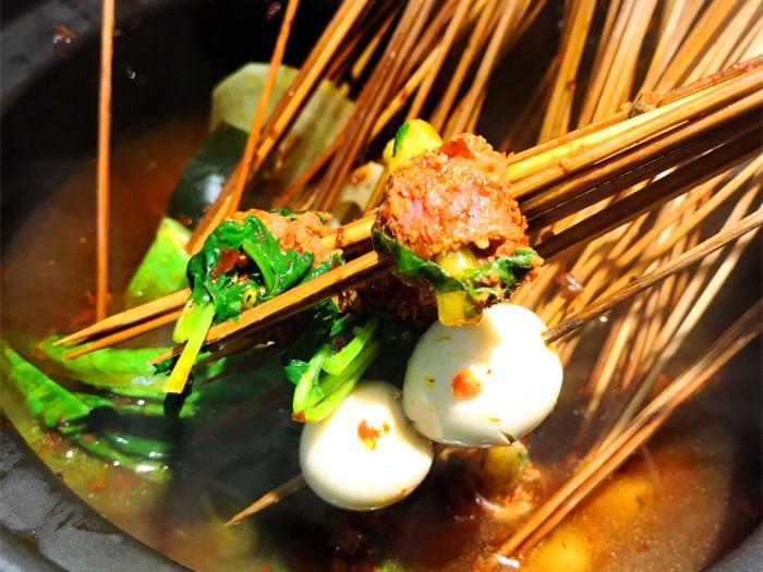 串串香和烧烤可以一起做吗
