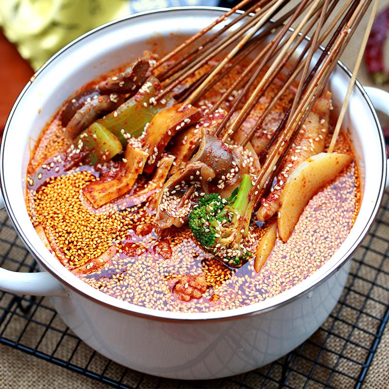 钵钵鸡红油配方的做法