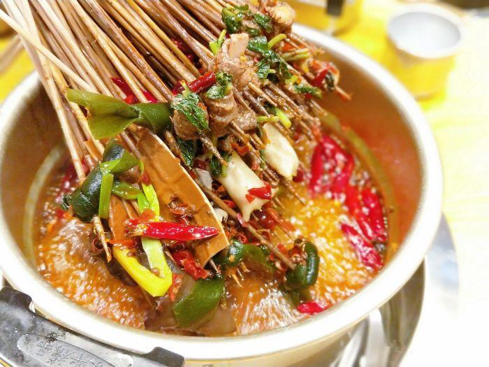 串串香菜品腌制方法