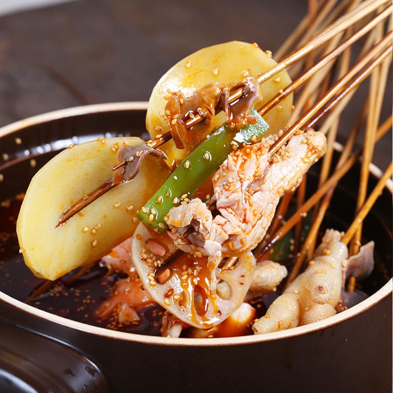 钵钵鸡可以用火锅料做吗