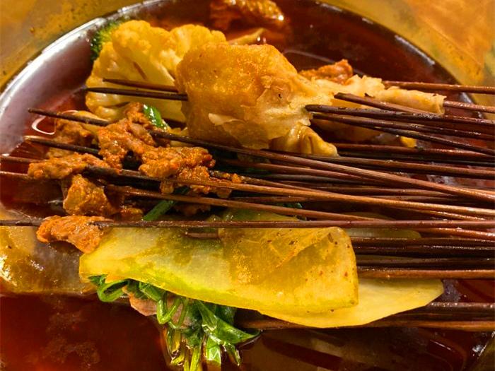 四川的冷锅串串有哪些菜