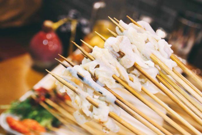 串串香吃后的签子多少根一斤