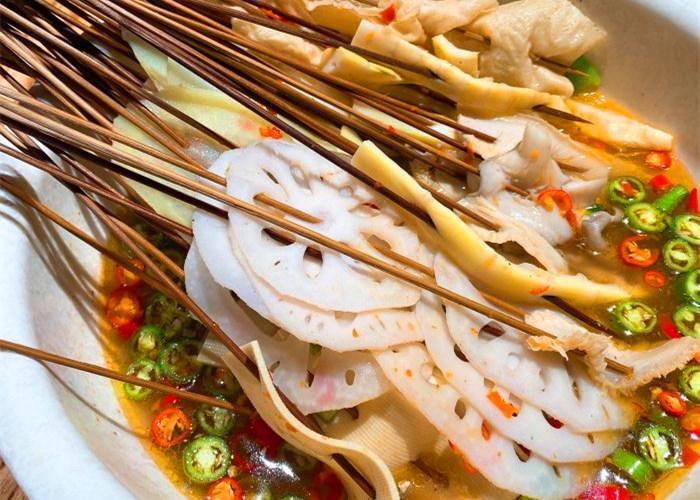 藤椒钵钵鸡的制作方法