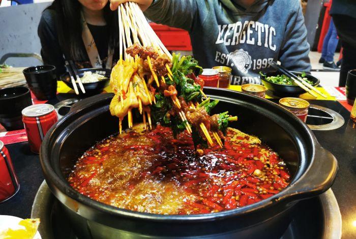 串串香店一般有哪些菜品