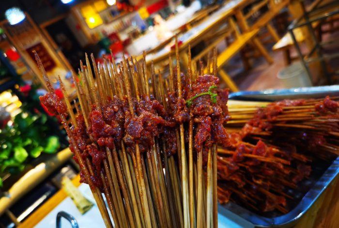 火锅串串做麻辣牛肉用什么部位