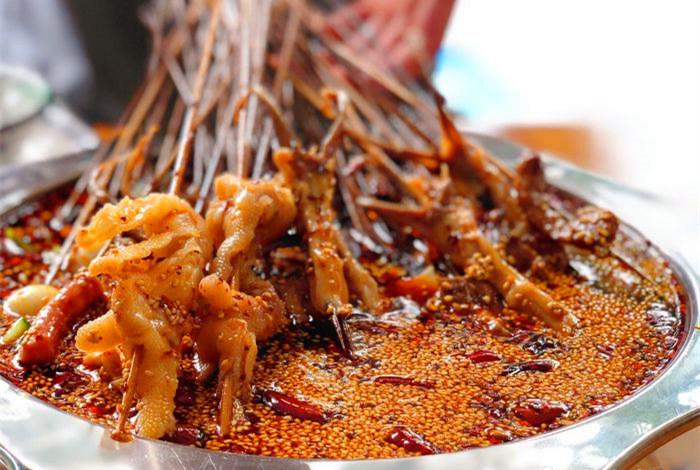乐山钵钵鸡的制作过程